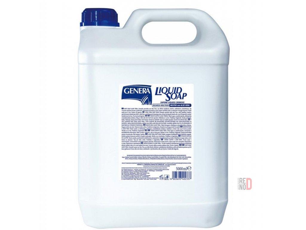 GENERA tekuté mydlo s antibakteriálnou prísadou 5000ml