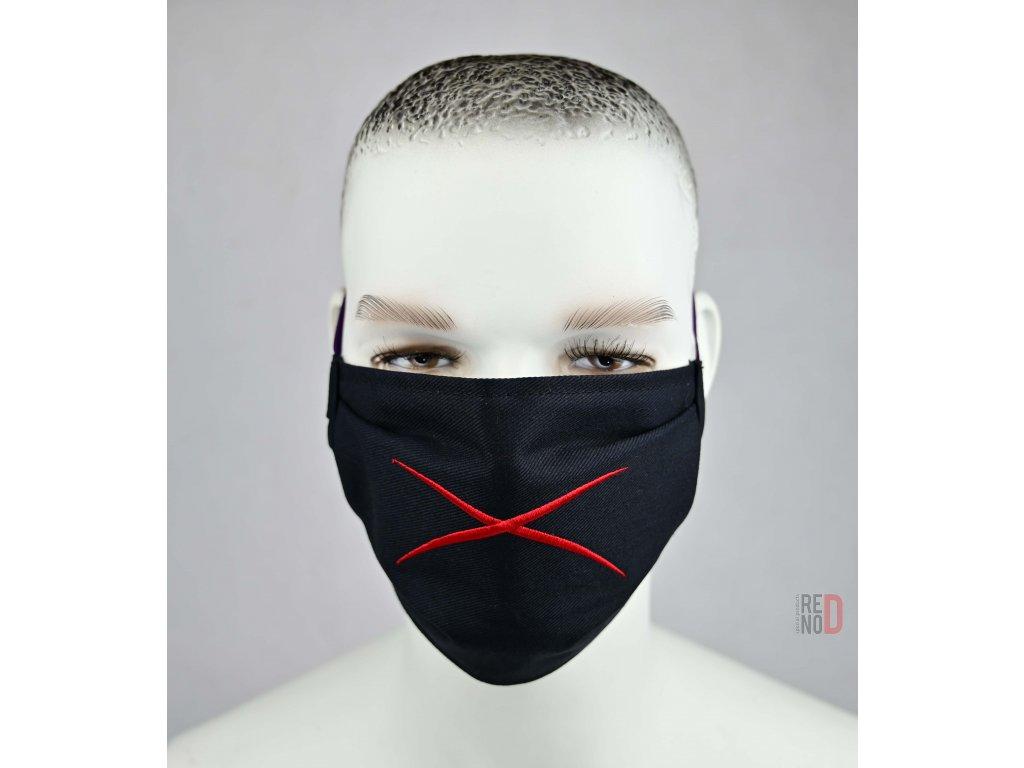 Ochranné bavlnené rúško Revolution X