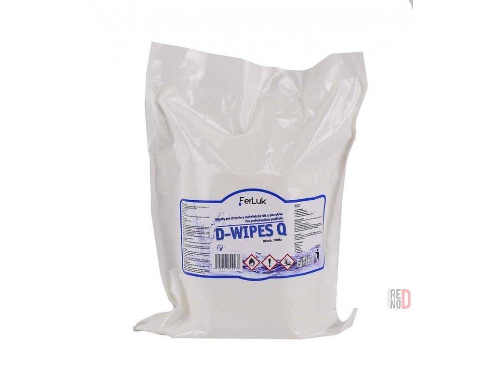 Náhradná náplň D-Wipes Q (700ks)