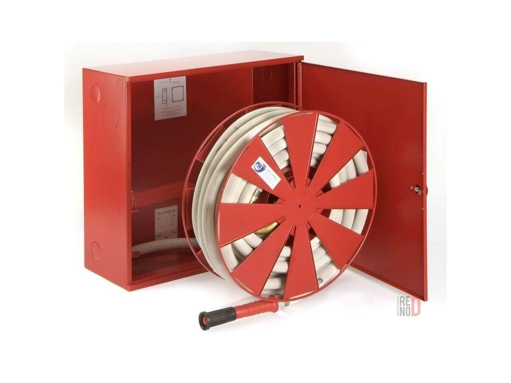 Hydrant s tvarovo stálou hadicou D33 -30bm - v skrini