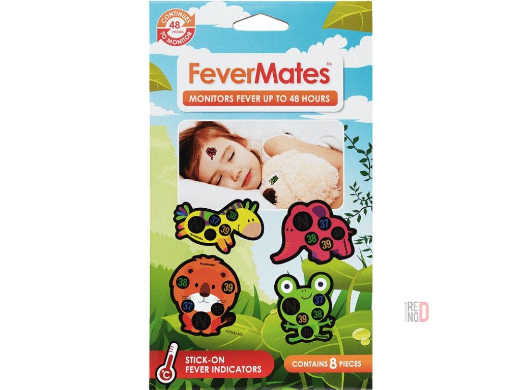 Nálepkové teplomery FeverMates