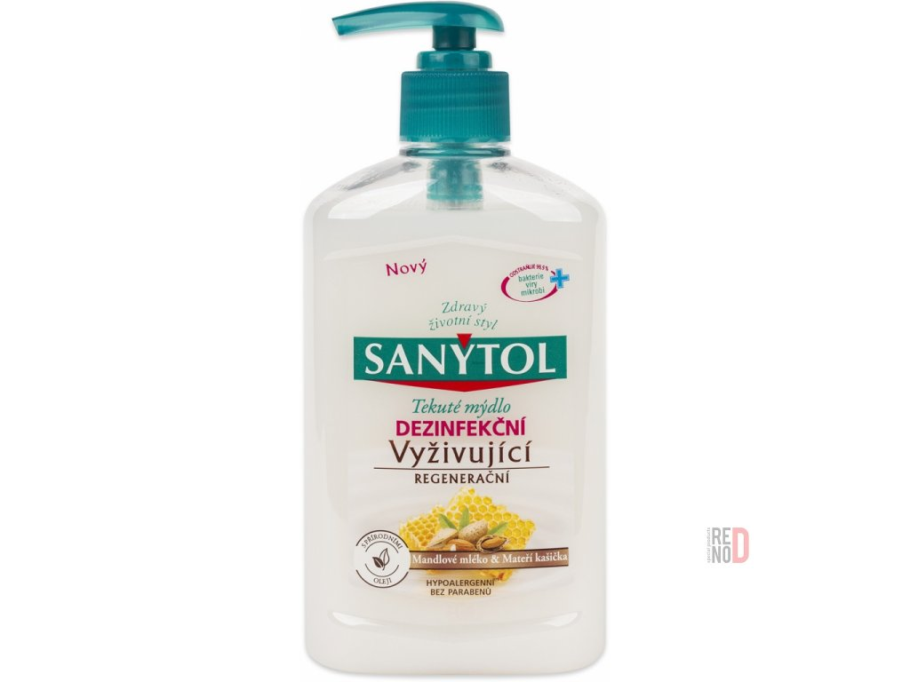 sanytol dezinfekčne tekute mydlo