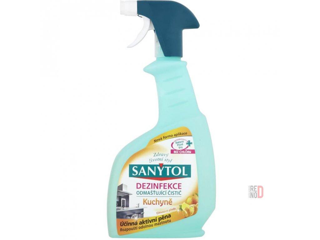 SANYTOL odmastňujúci dezinfekčný čistič kuchyne (500 ml)