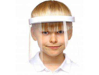 Detský ochrannýDetský ochranný štít na tvárštít na tvár