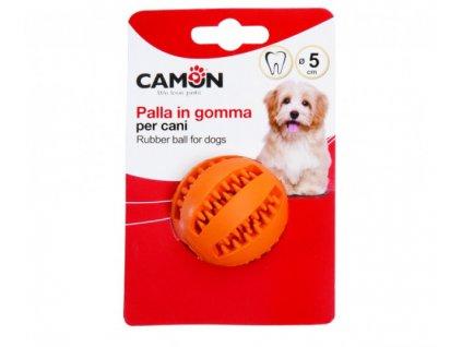 CAMON gumová loptička pre psa (70mm)