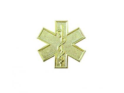 Odznak hviezda života zlatý