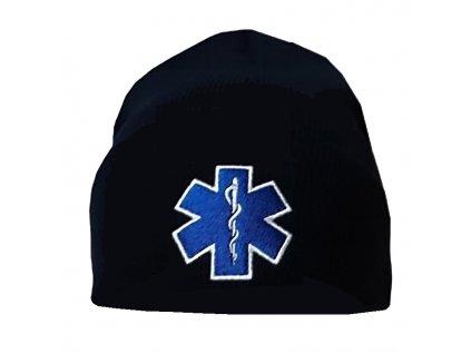 Zimná čiapka Kulich s výšivkou EMS (navy)