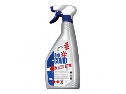 Anti-COVID dezinfekčný prostriedok (500ml) - rozprašovač