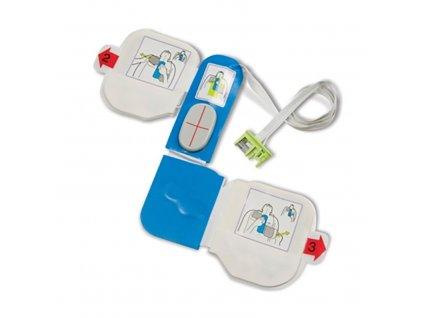Defibrilačné elektródy k AED s vyhodnotením