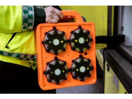 Cestný blikač LED (6-pack)