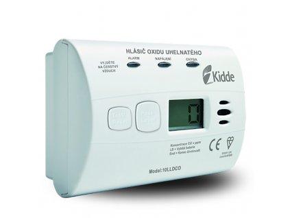 Kidde 10LLDCO detektor CO (odolný voči vlhkosti)