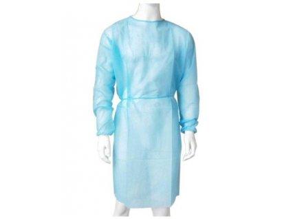 Návštevnícky plášť, modrý, bal. 10ks