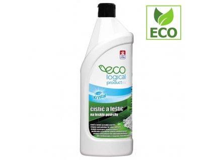 KRYSTAL čistič a leštič na lesklé povrchy ECO (750 ml)
