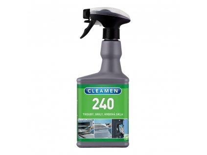 CLEAMEN 240 na grily, rúry, krby (550 ml)