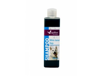 PAPILLON šampón na bielu srsť pre psov (250ml) - Šampón pre psov