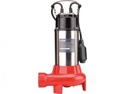 EXTOL Premium čerpadlo ponorné kalové s rezacím nožom, 1100W, 16200l/hod.