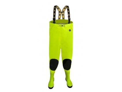 Brodiace nohavice PROS, fluo-zelené