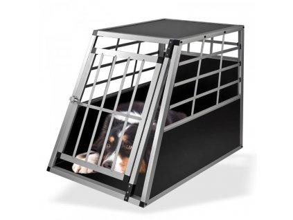 Prepravná klietka pre psa do auta 65x91x69 cm Bello 1