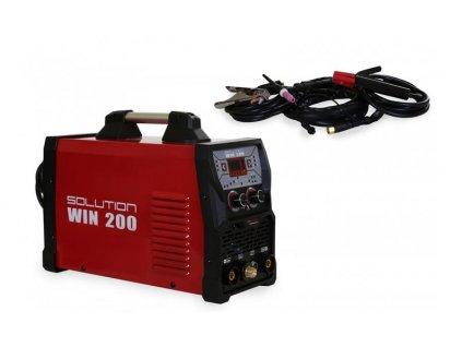 Solution WIN 200 pulzná TIG zváračka