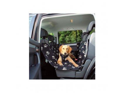 TRIXIE - Poťah do auta na sedadlá (čierno-béžová)