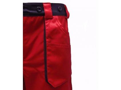 GERED krátke pracovné nohavice pre záchranárov