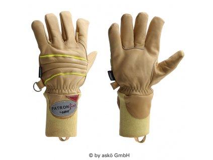 ASKÖ PATRON FIRE zásahové rukavice (pletená manžeta)
