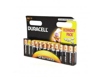 Duracell Batérie typu AA (12ks)
