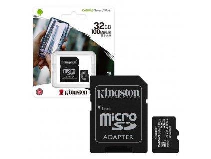 Kingston Canvas Select Plus 32 GB - Pamäťová karta