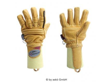 ASKÖ FIRE ACTION ELCH zásahové rukavice (pletená manžeta)