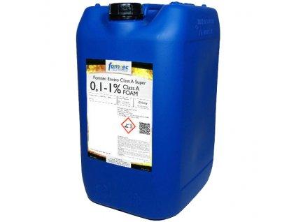 FOMTEC Class A SUPER 0,1-1% (25kg) - Penidlo