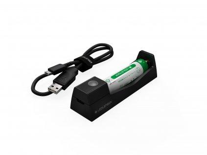 ledlenser akumulator s nabijacou zakladnou