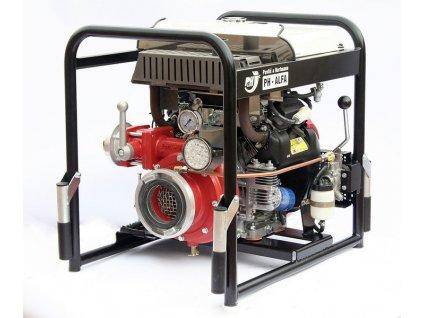 Striekačka PH-ALFA s mechanickou vývevou