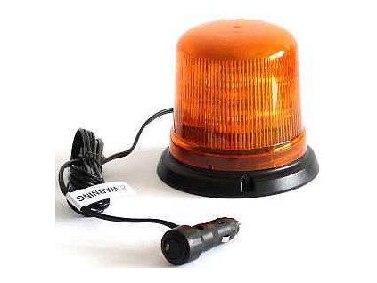 Majak LED 12 24V magneticky oranzovy