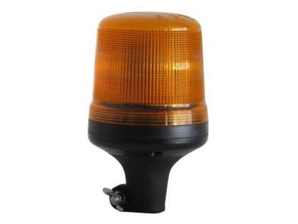 Majak LED 12 24V upevneni na tyc oranzovy