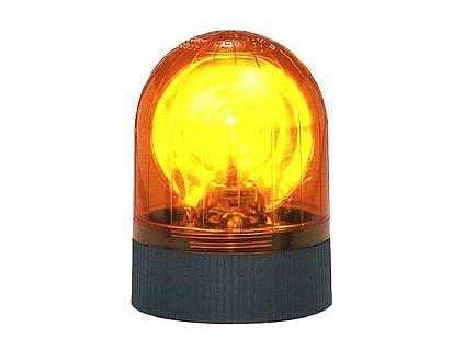 Majak rotacni 12V pevna montaz oranzovy a904552 10664