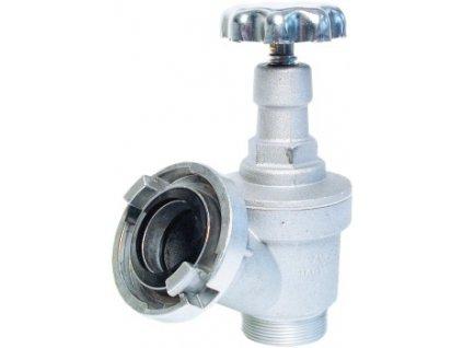 """Nástenný hydrant Al C52 (Ventil 2"""", PN 16) - so spojkou Al"""