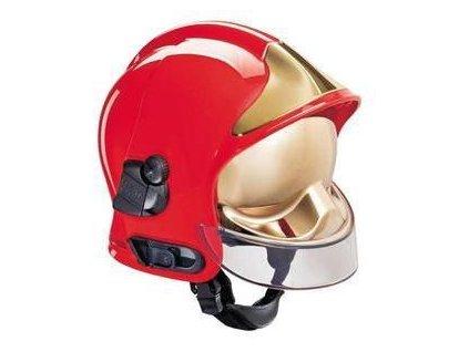 prilba gallet f1 sf se zlatym stitem vcetne zatylniku barva cervena 9992 2