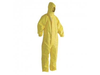 ochranny oblek zlty
