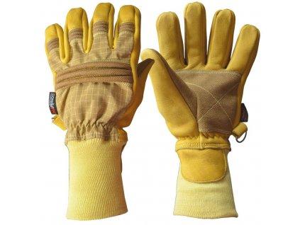 ASKÖ PATRON FIRE PBI ELK zásahové rukavice (pletená manžeta)