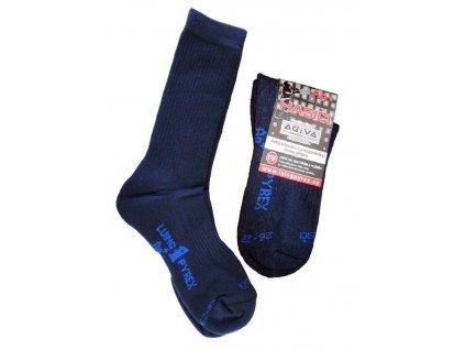 Ponožky do zásahovej obuvi LP Ag (poloplyš - vysoké)