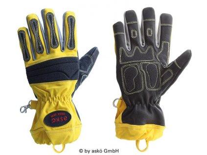 Záchranárske rukavice Deer Skin