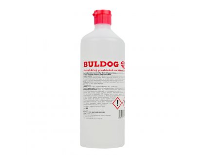 Dezinfekčný prostriedok na báze alkoholu BULDOG (1L)