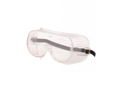Ochranné okuliare uzatvorené číre G3011