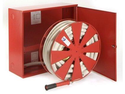 Hydrant s tvarovo stálou hadicou D33 -20bm - v skrini