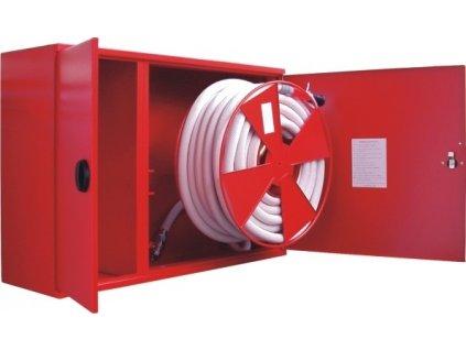 Hydrant s tvarovo stálou hadicou D25 Kombi -30bm - prúdnica ekv.6 alebo 10