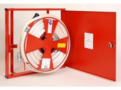 Hydranty s tvarovo stálou hadicou D25 - plná dvierka - prúdnica ekv.6 alebo 10