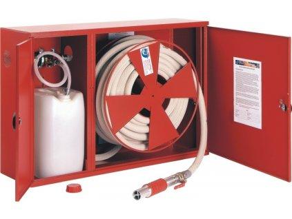Hydrant penotvorný s tvarovo stálou hadicou D25