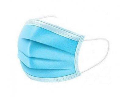Jednorázové ochranné rúška 3-vrstvové v sterilnom balení