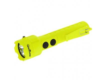 nightstick xpp 5422g dualne svietidlo polymer 3aa 120lm žltá