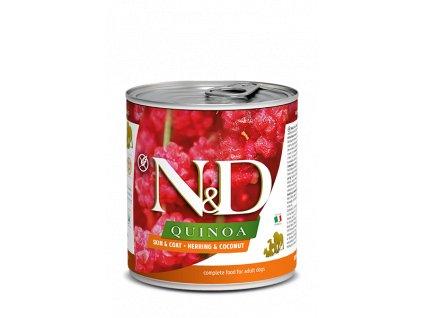 Farmina N&D Dog Quinoa Skin & Coat Herring 285 g
